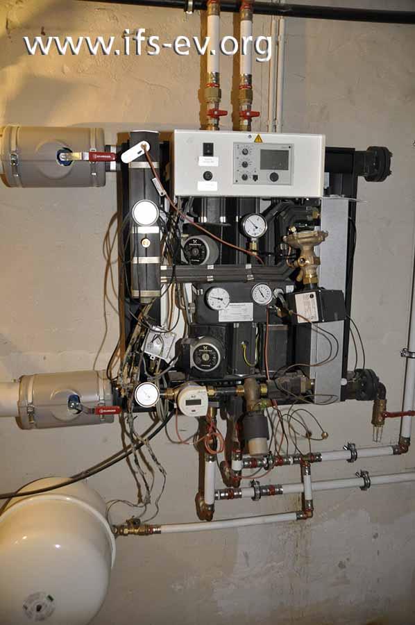 Die Fernwärme-Kompaktstation