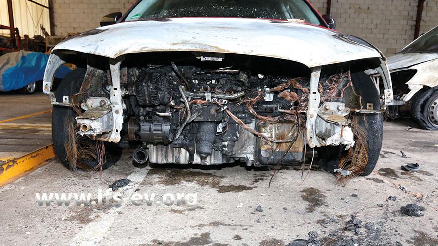 Das IFS hat Erfahrungen mit Brandursachenermittlungen an Fahrzeugen aller Art.
