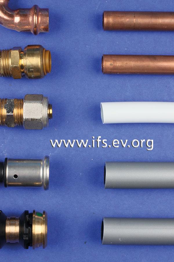 Für Rohrverbindungen gibt es heute eine Vielzahl von Möglichkeiten.