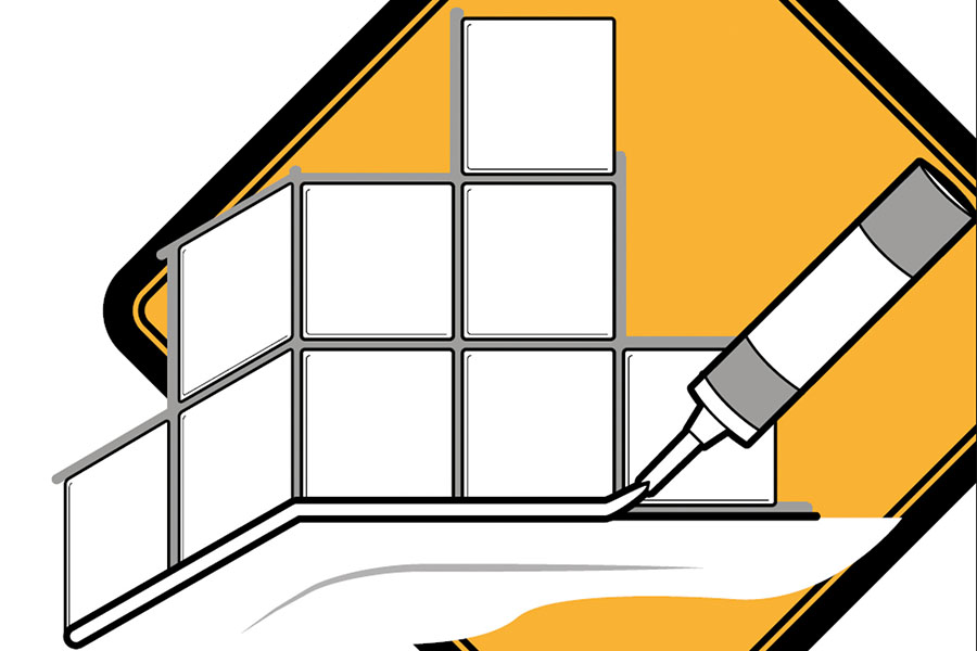 """Das Merkblatt """"Silikonfugen"""" kann kostenlos heruntergeladen werden: www.ifs-ev.org/service"""