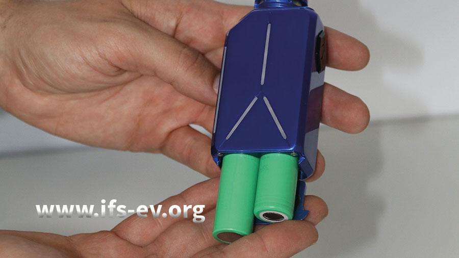 Angetrieben von Lithium-Akkuzellen machen E-Zigaretten kräftig Dampf.