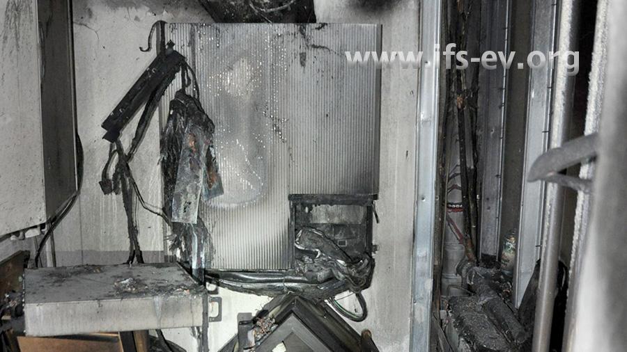 Brandschaden an einem Hausspeicher mit Lithiumtechnologie