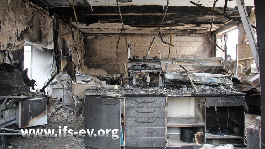 Brand- und Explosionsschäden im Labor